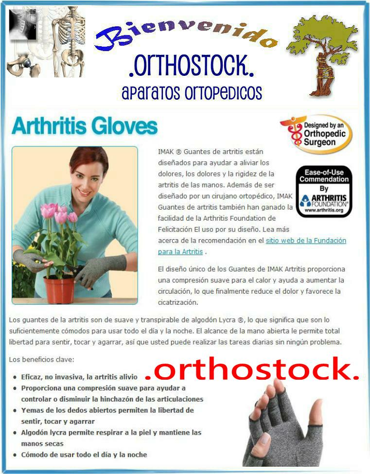 GUANTES ARTRITIS